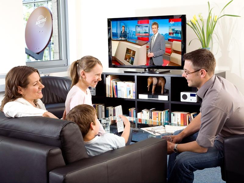 Digitales Wohnzimmer